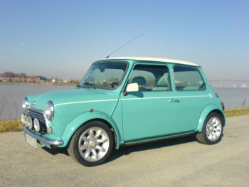 rover mini cooper s de 1998 location tournage cin ma avec cast 39 things. Black Bedroom Furniture Sets. Home Design Ideas