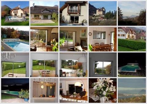 Maison avec piscine au bord lac annecy location tournage - Location maison avec piscine annecy ...