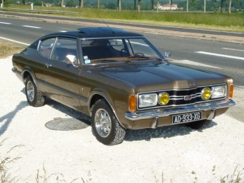 Ford taunus coupé fastback 1972