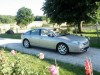 Citroen C6 Beige m�tail, int�rieur cuir beige V6 essence - Location tournage Cast'Things