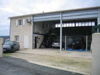 Garage bureau pont terrain clos et voitures location for Garage location pont