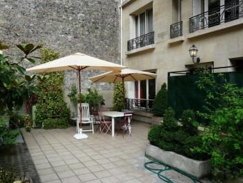 Appartement sur jardin priv 16 me nord location for Jardin 16eme
