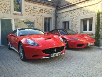 ferrari porsche location tournage cin ma avec cast. Black Bedroom Furniture Sets. Home Design Ideas