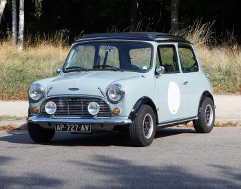 austin mini cooper 1275 mk3 location tournage cin ma avec cast 39 things. Black Bedroom Furniture Sets. Home Design Ideas