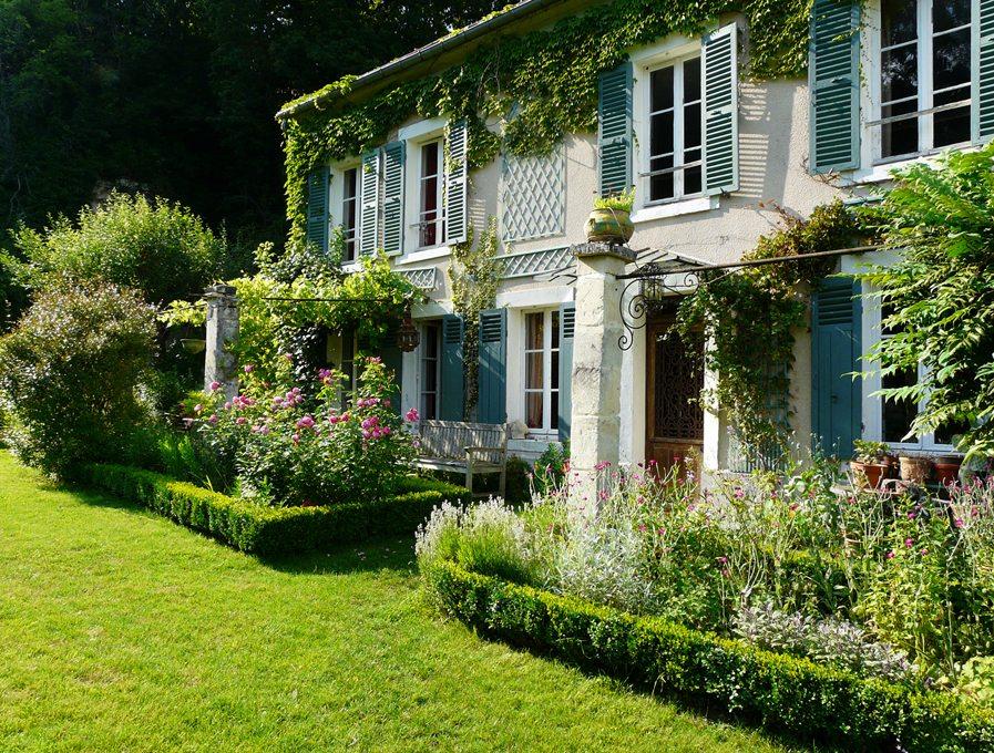 Grande maison de campagne ancienne de charme isolée Ile de France 34 kms de Paris + carrières ...