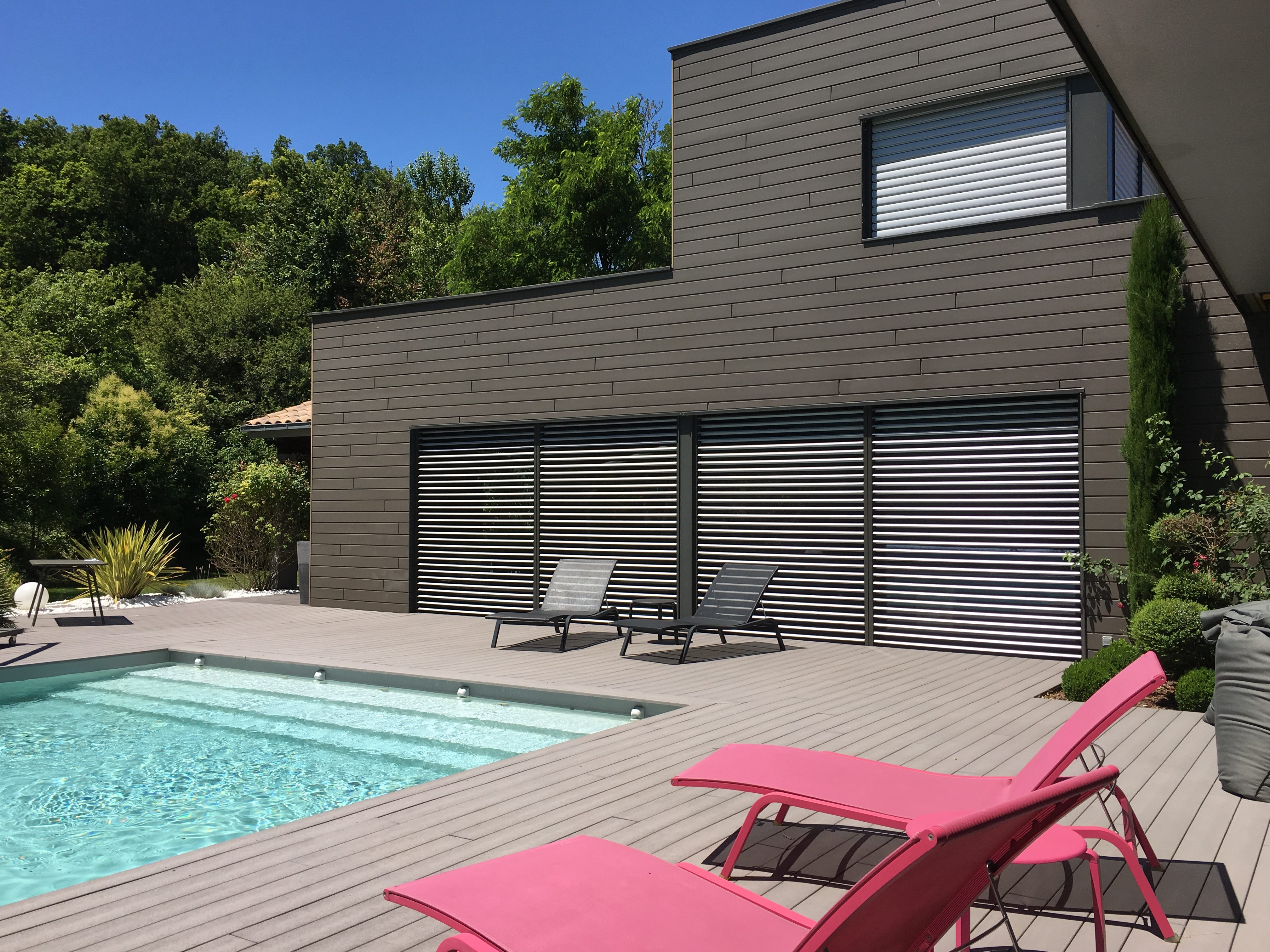 rare maison contemporaine avec piscine, Photo 8