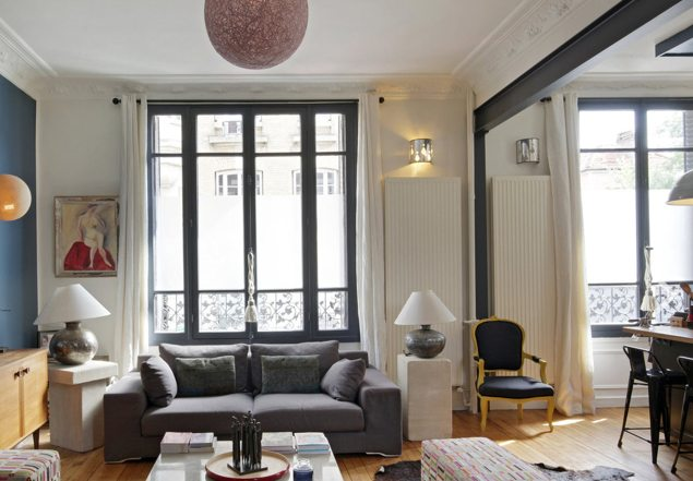 Maison ancienne rénovée en banlieue parisienne - Location tournage ...