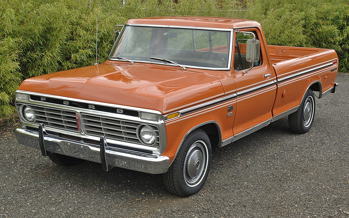 PICK-UP FORD 1974, Photo 1