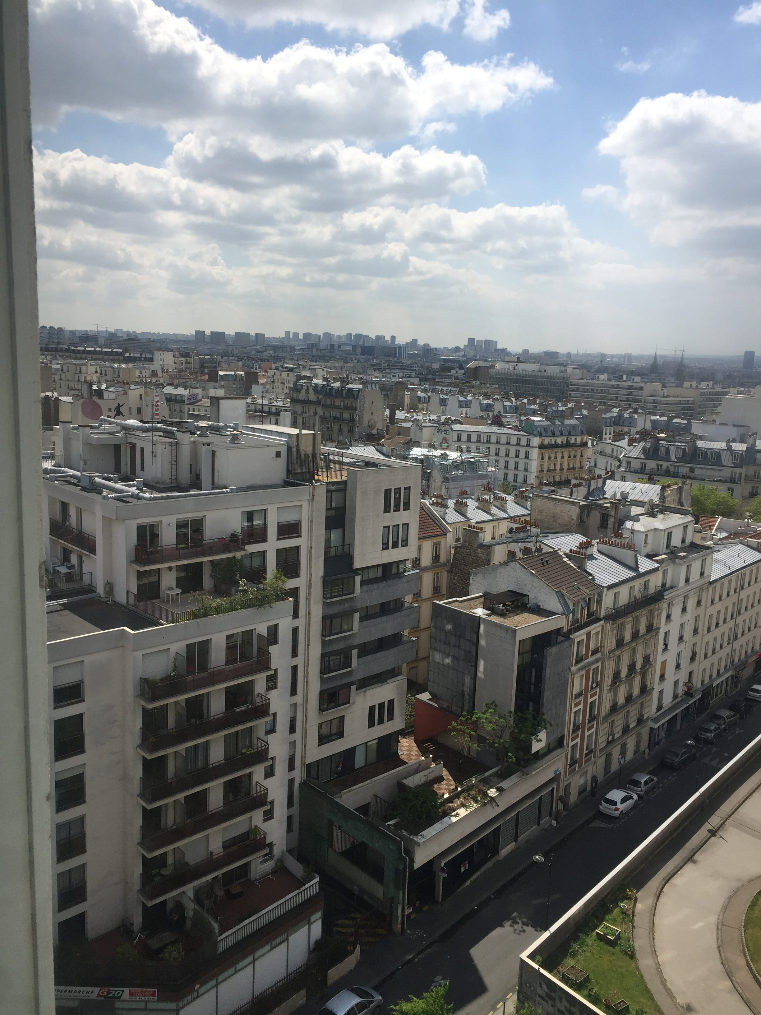 appartement Ménilmontant Belleville, vues toits de PARIS, Photo 3