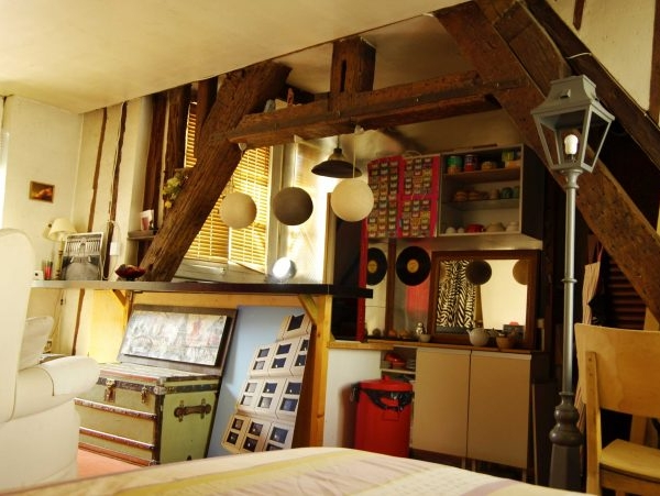 studio cocooning Paris 2e