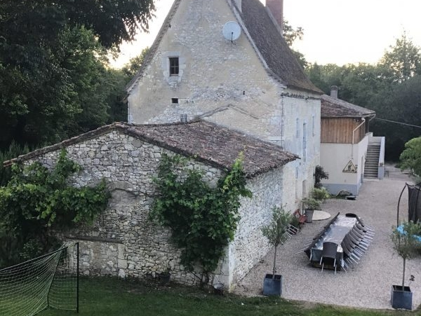 manoir du VIIIème et son moulin