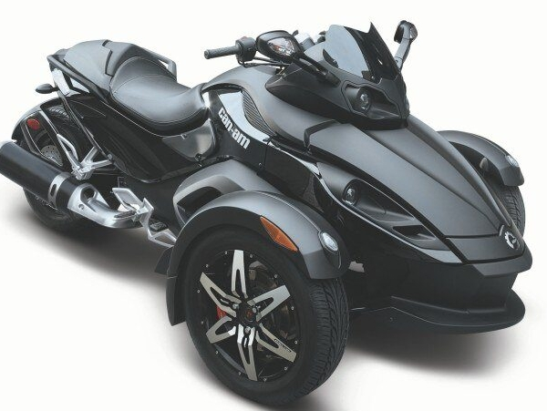 Can Am Spyder black phantom