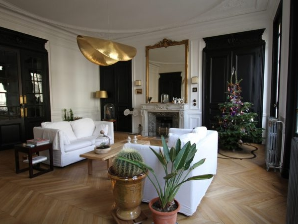 appartement parisien haussmannien 216 m²